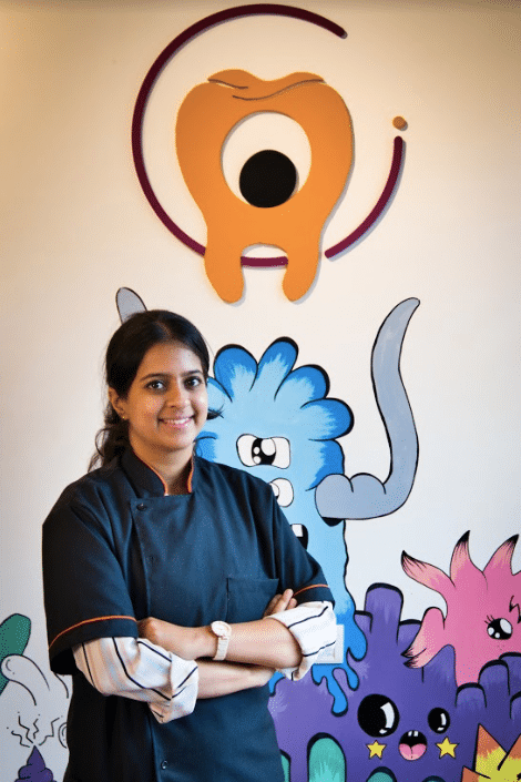 Dr Janani Rangaswamy M.D.S - Pediatric dentist at Growing Smiles Bangalore Whitefield