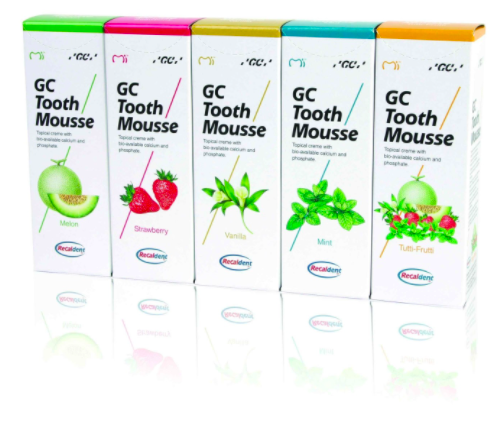 GC Tooth Mousse At Growing Smiles Pediatric Dentistry in Bangalore