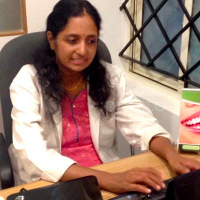 Dr Neeraja Raju Pediatric dentist at Growing smiles whitefield, Bangalore